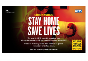 Stay Home resources available from Public Health England