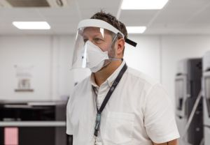 CPSC are taking further orders for medical visors to help protect community pharmacy teams